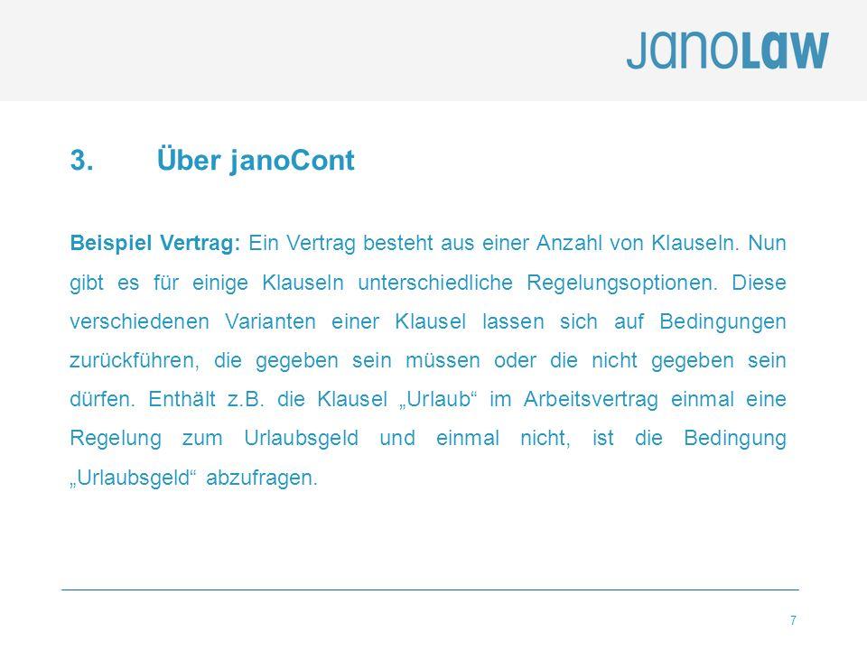 3. Über janoCont
