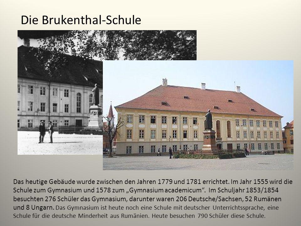 Die Brukenthal-Schule