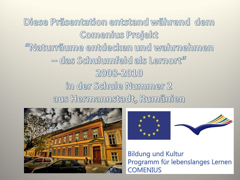 Diese Präsentation entstand während dem Comenius Projekt