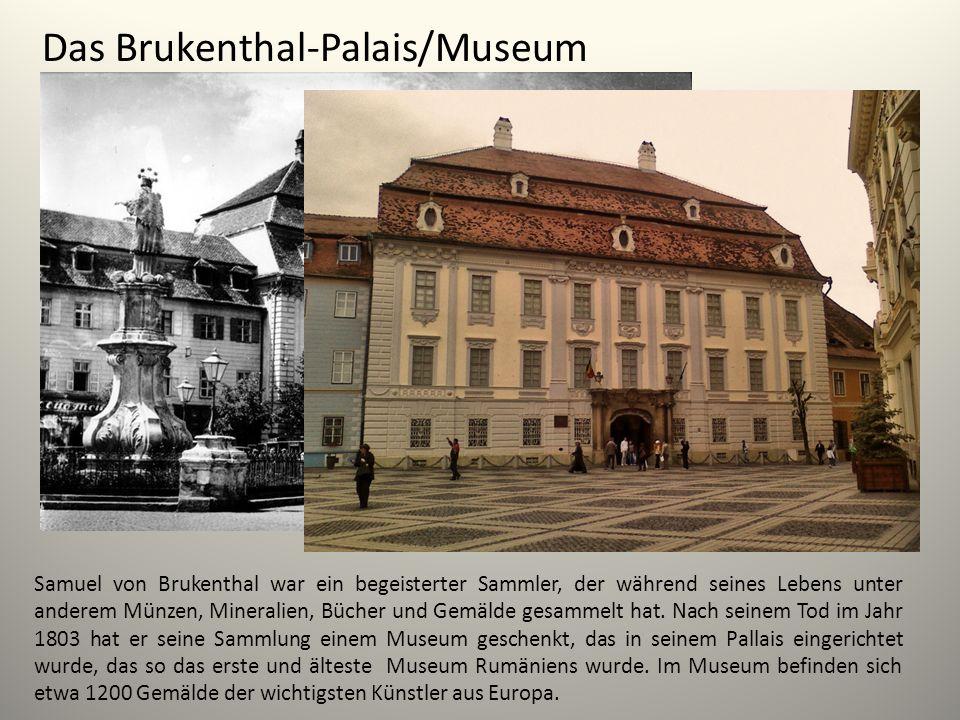 Das Brukenthal-Palais/Museum