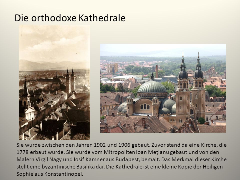 Die orthodoxe Kathedrale
