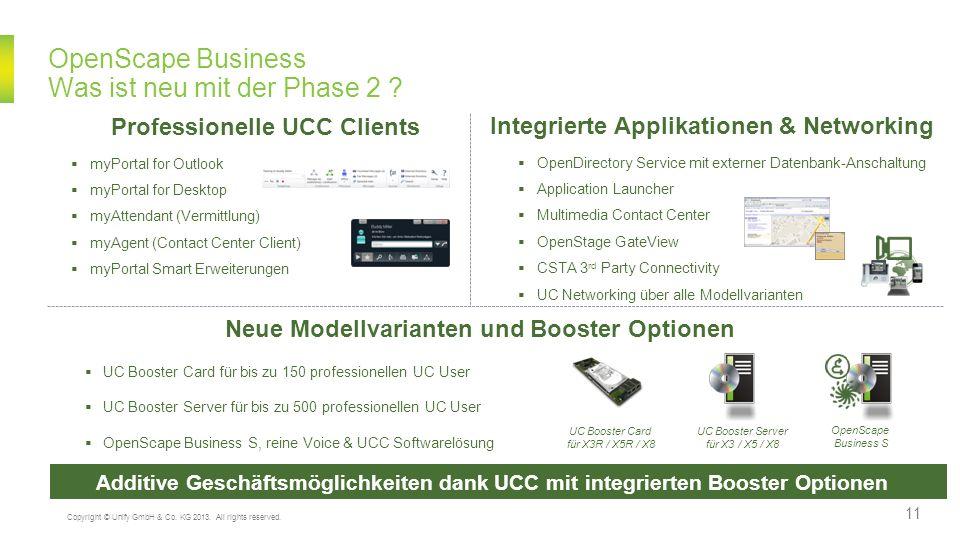 OpenScape Business Was ist neu mit der Phase 2