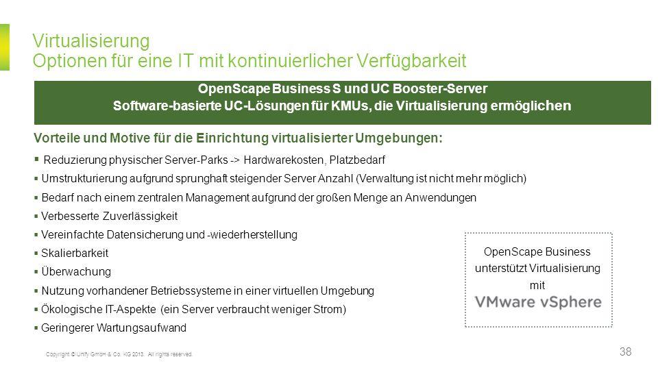 unterstützt Virtualisierung