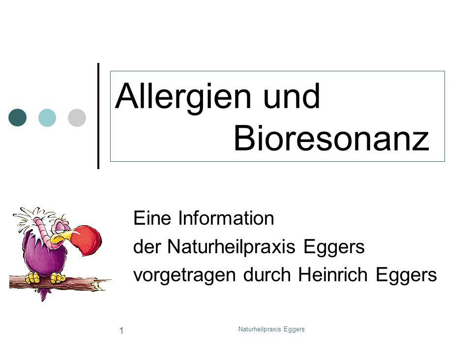 Allergien und Bioresonanz
