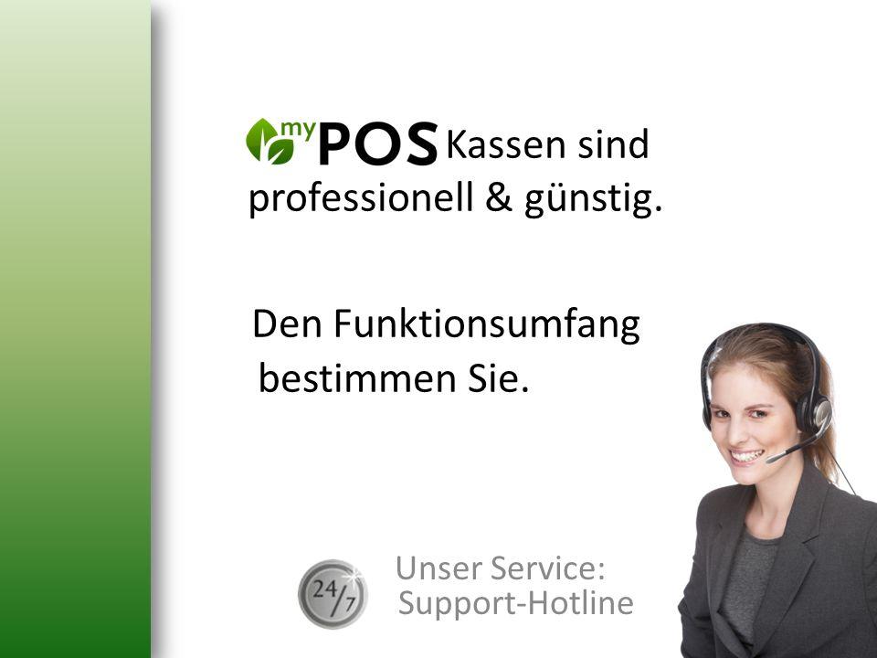 Unser Service: Support-Hotline