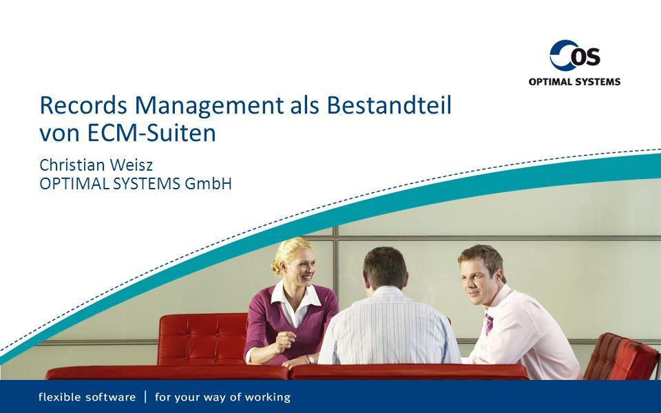 Records Management als Bestandteil von ECM-Suiten