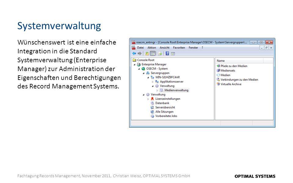 Systemverwaltung