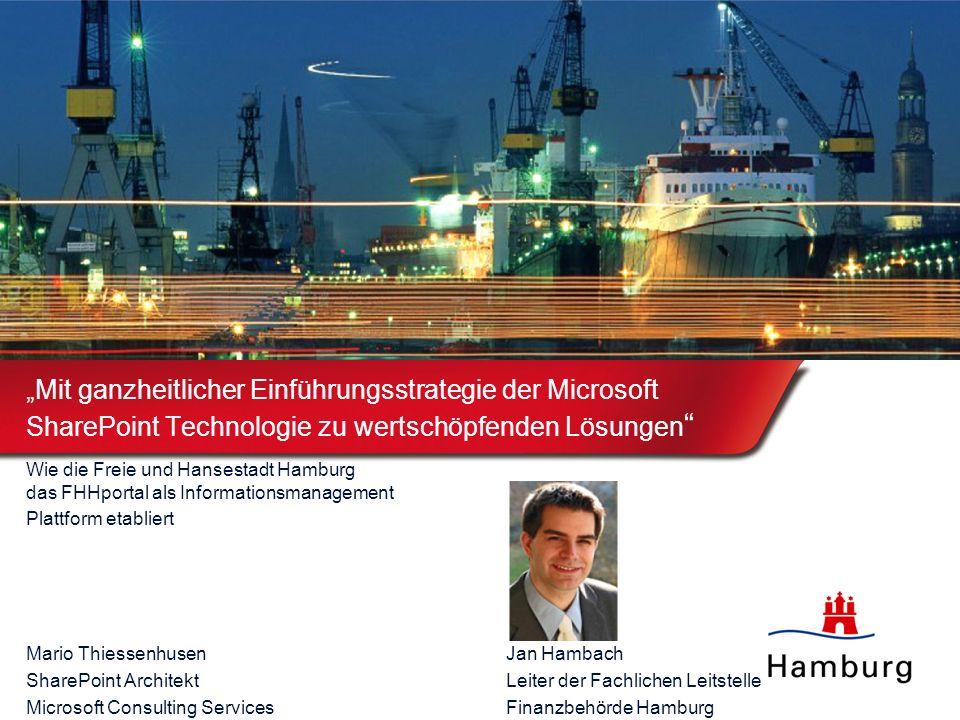 """""""Mit ganzheitlicher Einführungsstrategie der Microsoft SharePoint Technologie zu wertschöpfenden Lösungen"""