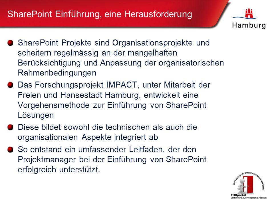 SharePoint Einführung, eine Herausforderung