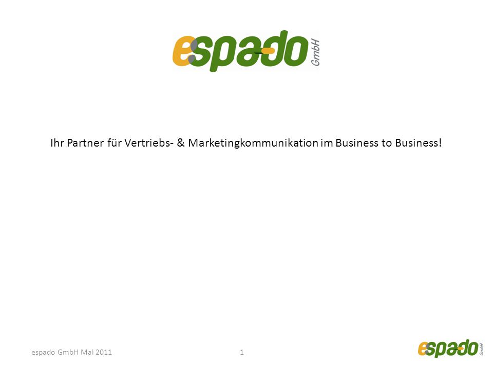 Ihr Partner für Vertriebs- & Marketingkommunikation im Business to Business!