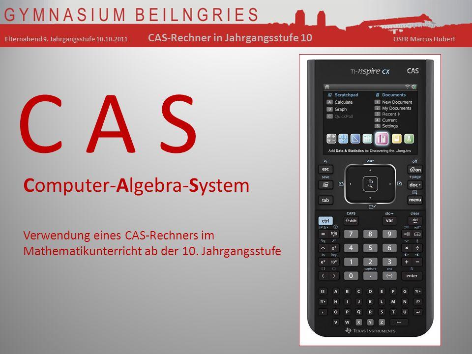 C A S Computer-Algebra-System