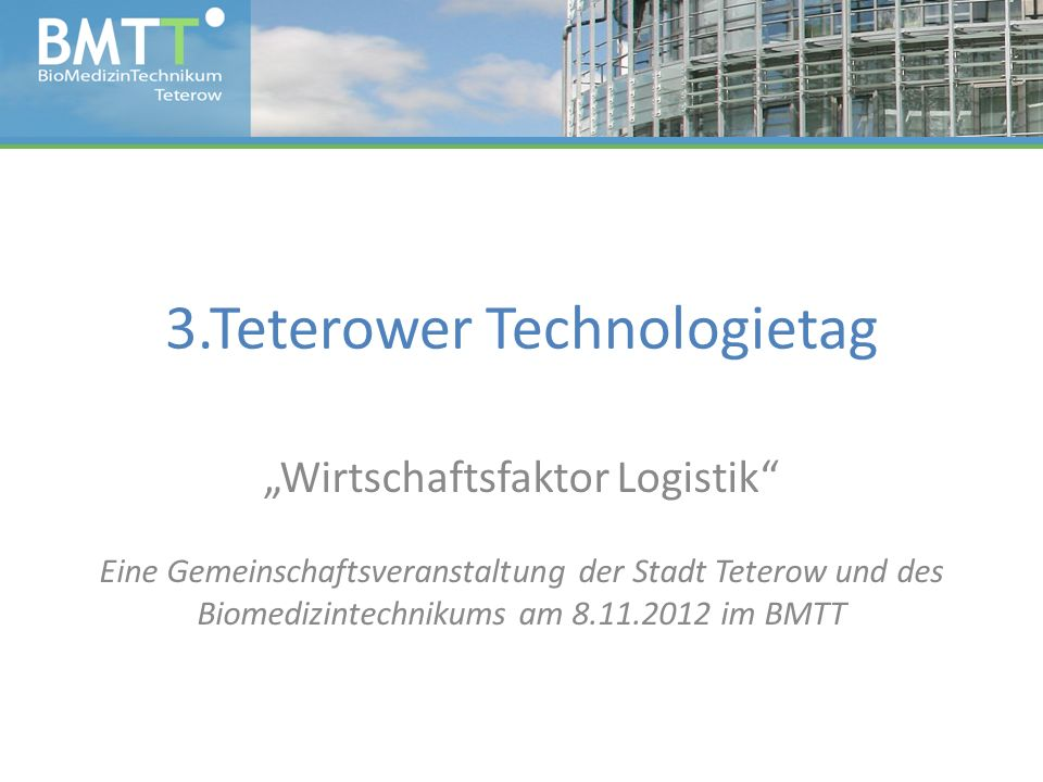 3.Teterower Technologietag