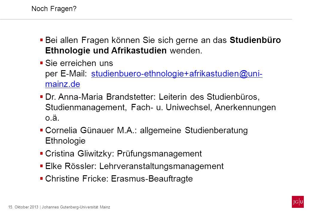 Cornelia Günauer M.A.: allgemeine Studienberatung Ethnologie