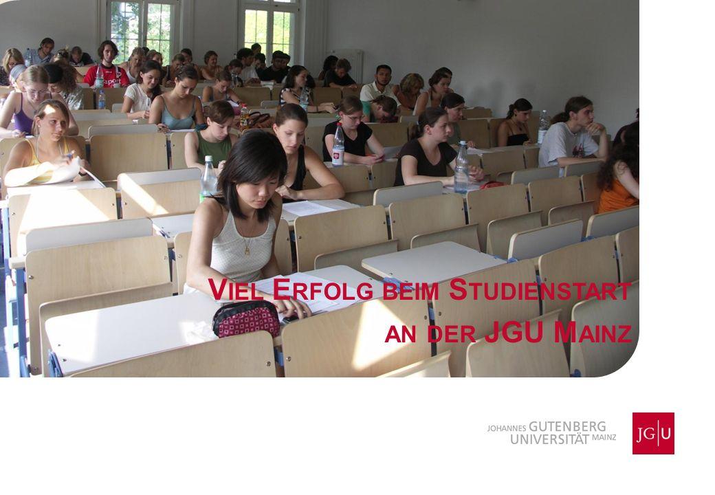 Viel Erfolg beim Studienstart