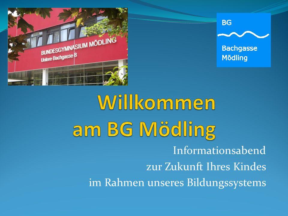 Willkommen am BG Mödling