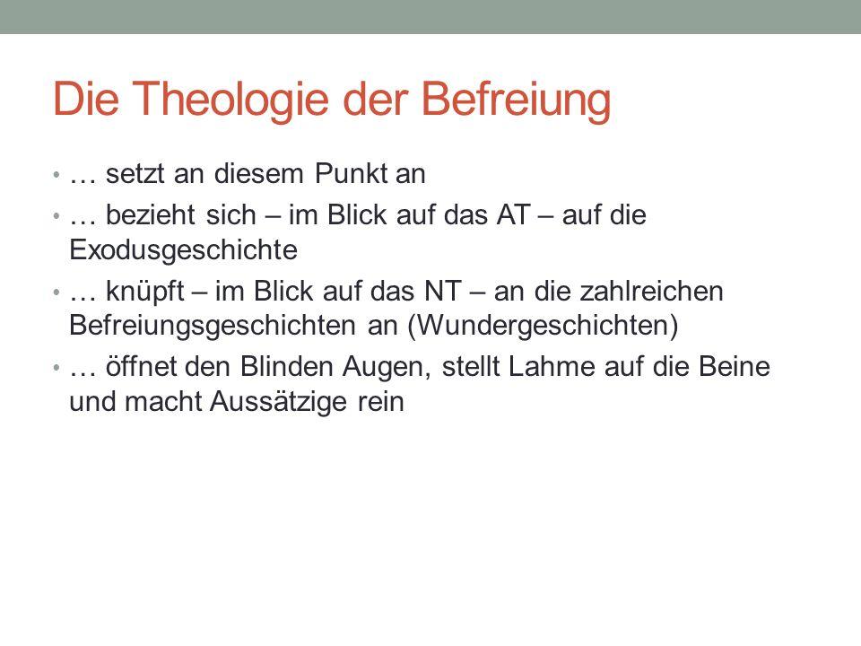 Die Theologie der Befreiung
