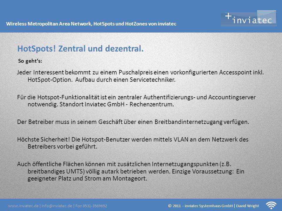 Fehmarn Hotsots HotSpots! Zentral und dezentral.