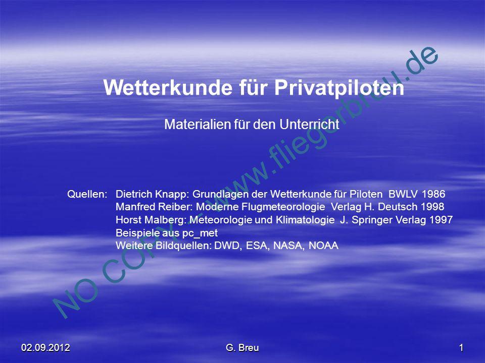Wetterkunde für Privatpiloten