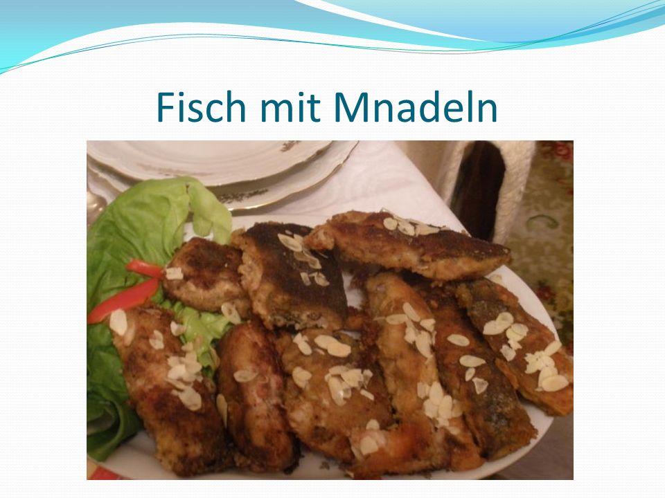 Fisch mit Mnadeln