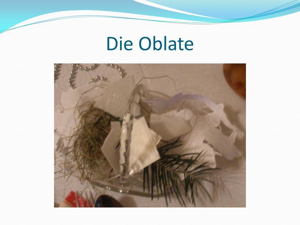 Die Oblate