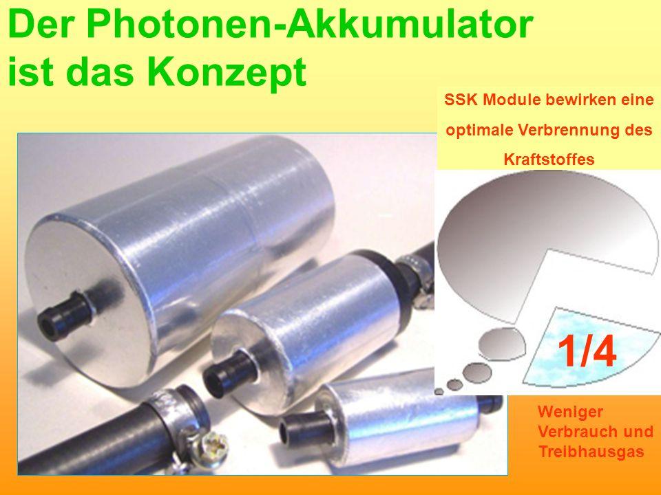 Der Photonen-Akkumulator ist das Konzept