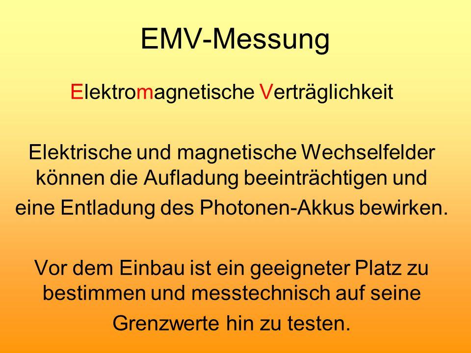 EMV-Messung Elektromagnetische Verträglichkeit