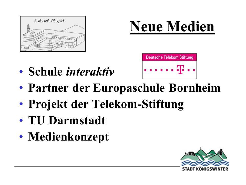 Neue Medien Schule interaktiv Partner der Europaschule Bornheim