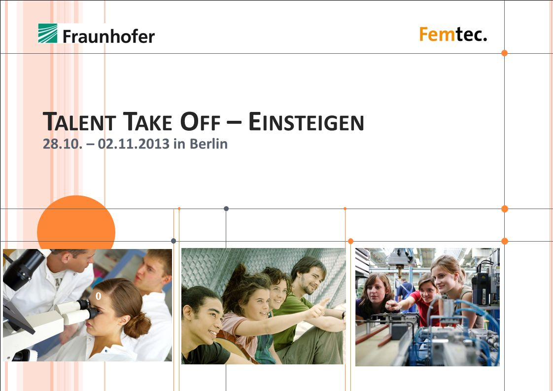 Talent Take Off – Einsteigen
