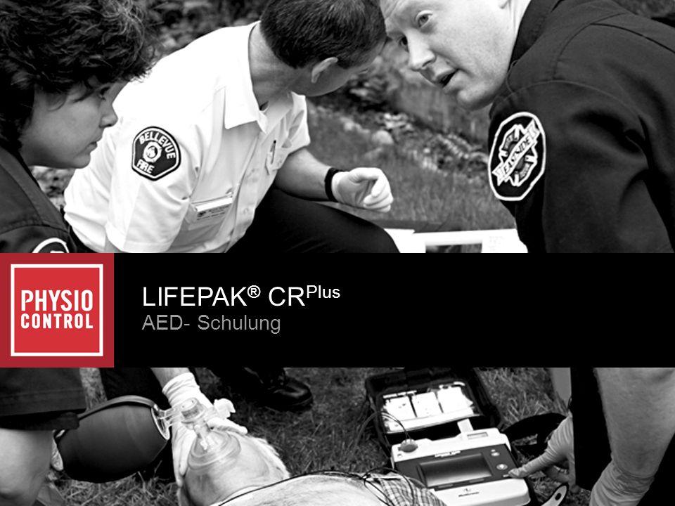 LIFEPAK® CRPlus AED- Schulung