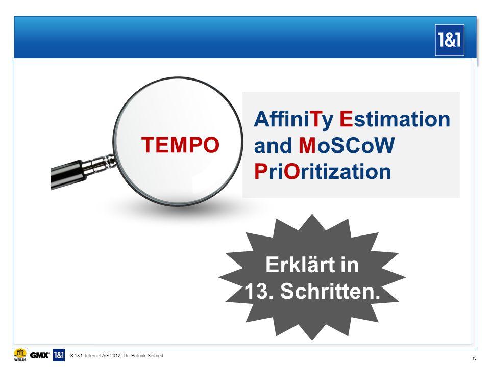 TEMPO Erklärt in 13. Schritten.