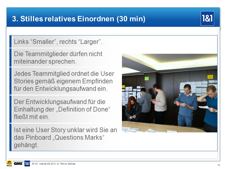 3. Stilles relatives Einordnen (30 min)