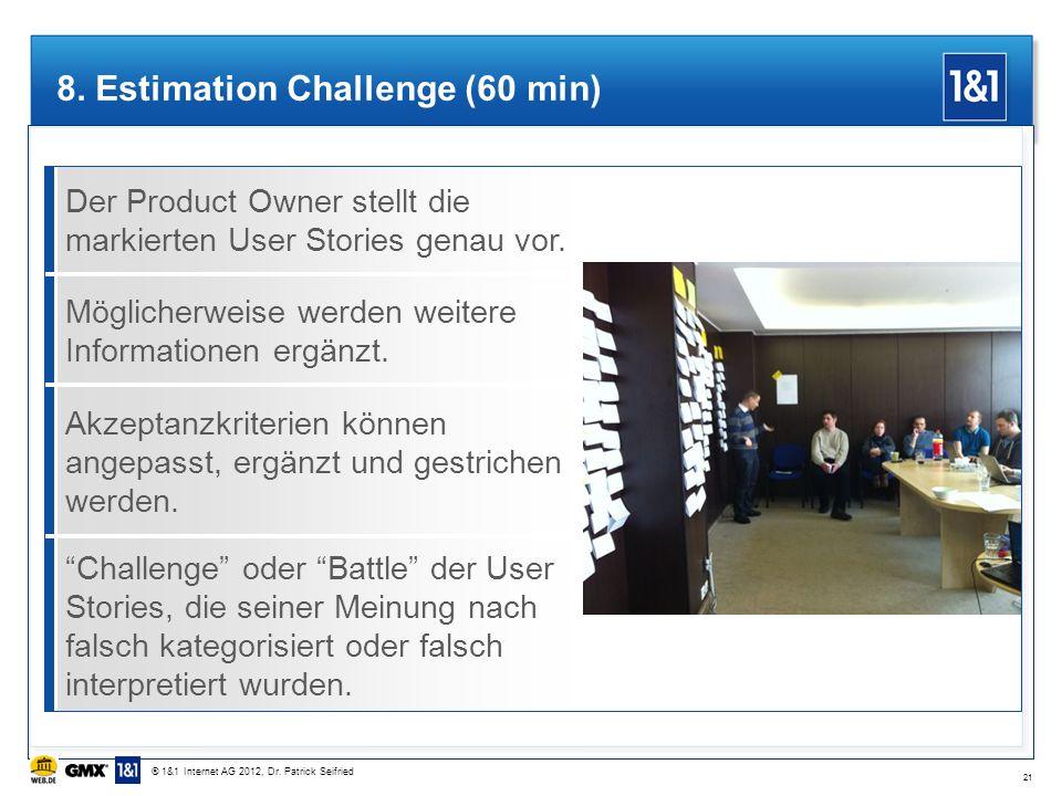 8. Estimation Challenge (60 min)