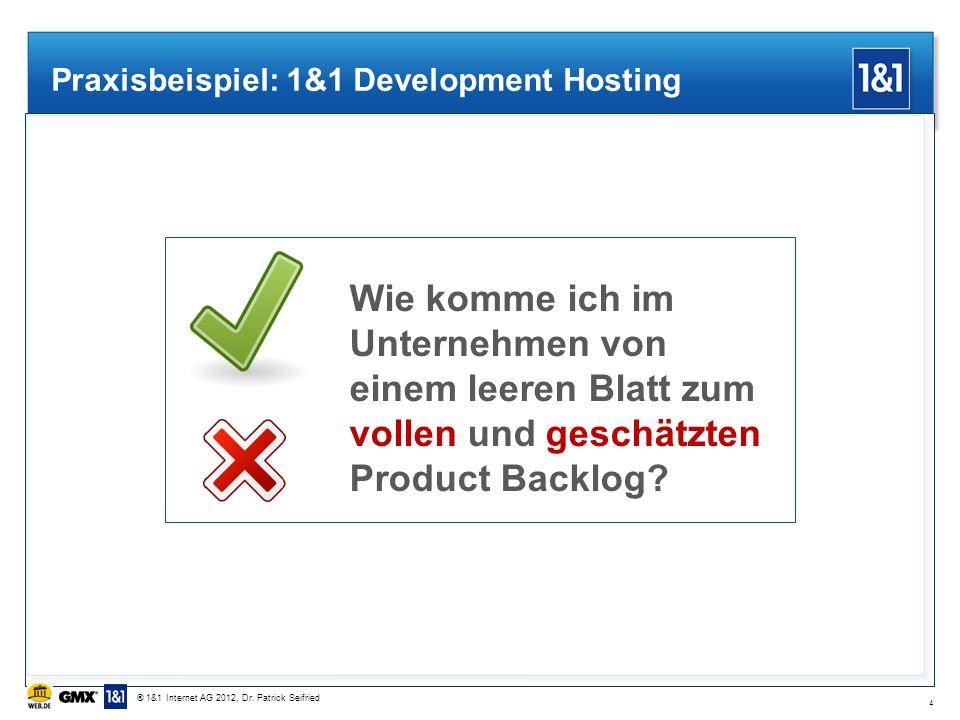 Praxisbeispiel: 1&1 Development Hosting