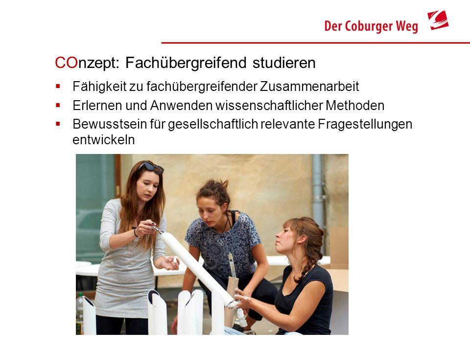 COnzept: Fachübergreifend studieren