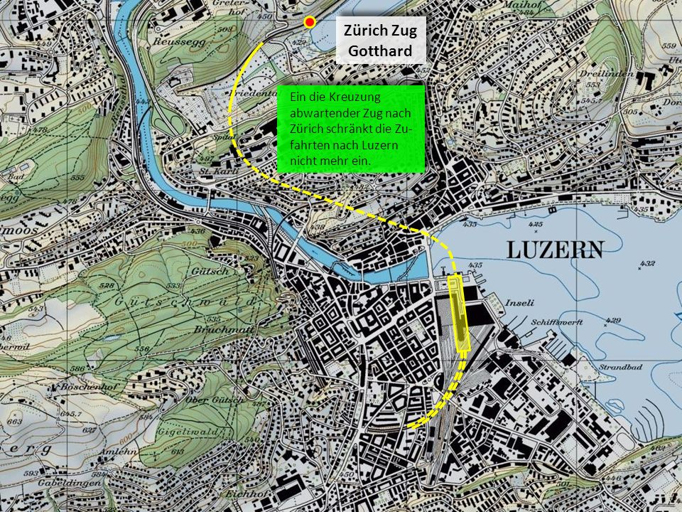 Zürich Zug Gotthard.