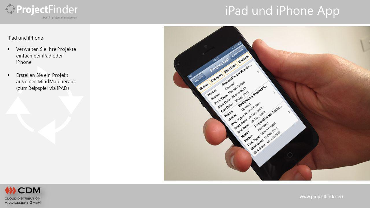 iPad und iPhone App iPad und iPhone