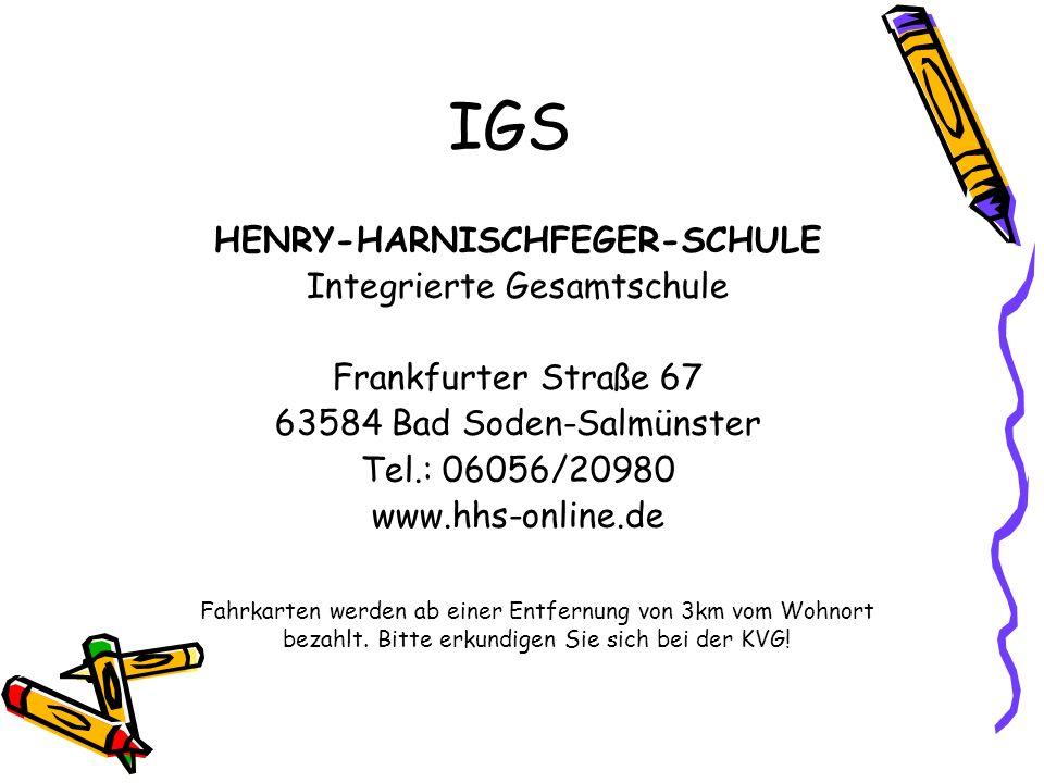 HENRY-HARNISCHFEGER-SCHULE