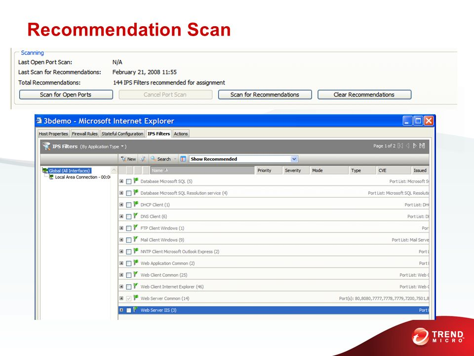 Recommendation ScanThe Recommendation Scan feature is what really makes Deep Security scalable, here how it works …