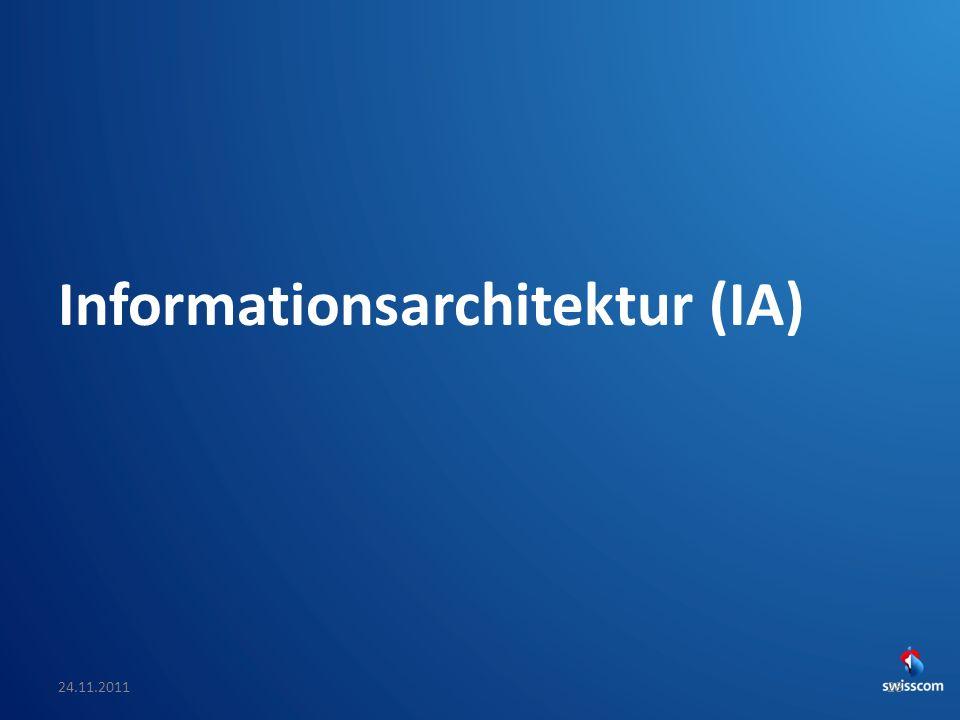 Informationsarchitektur (IA)