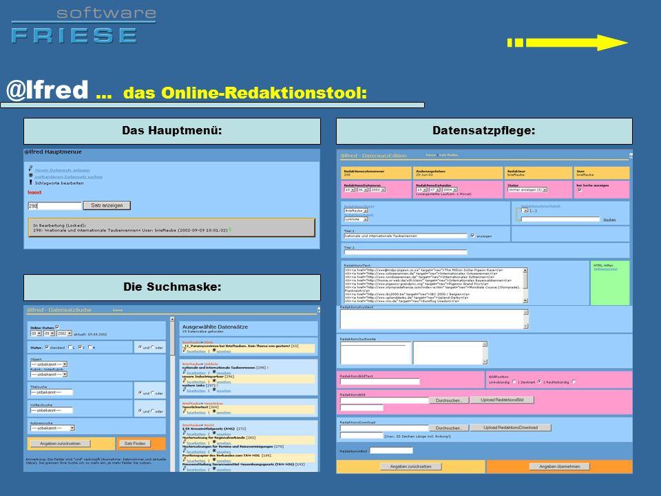 @lfred … das Online-Redaktionstool: