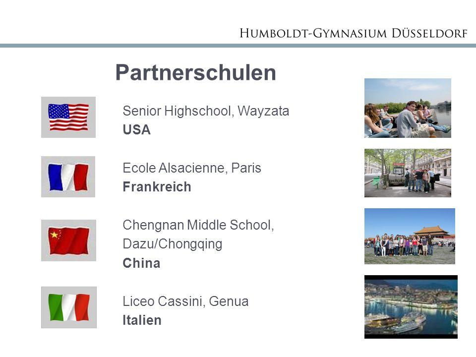 Partnerschulen USA Ecole Alsacienne, Paris Frankreich