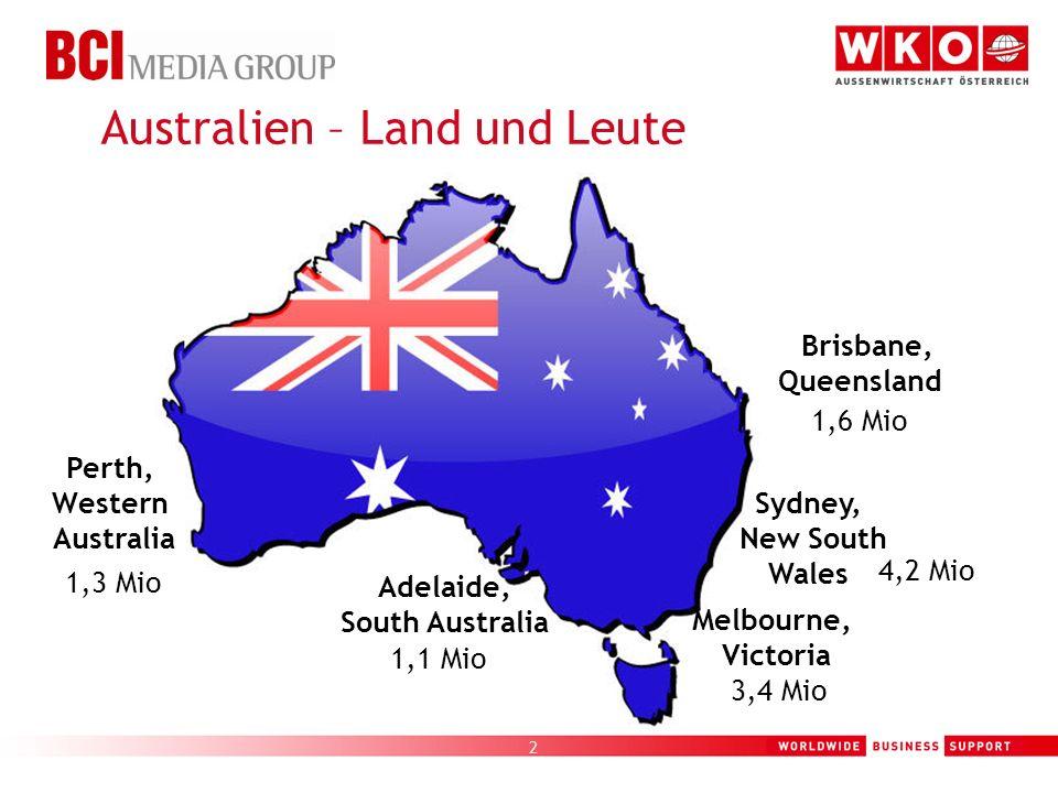 Australien – Land und Leute