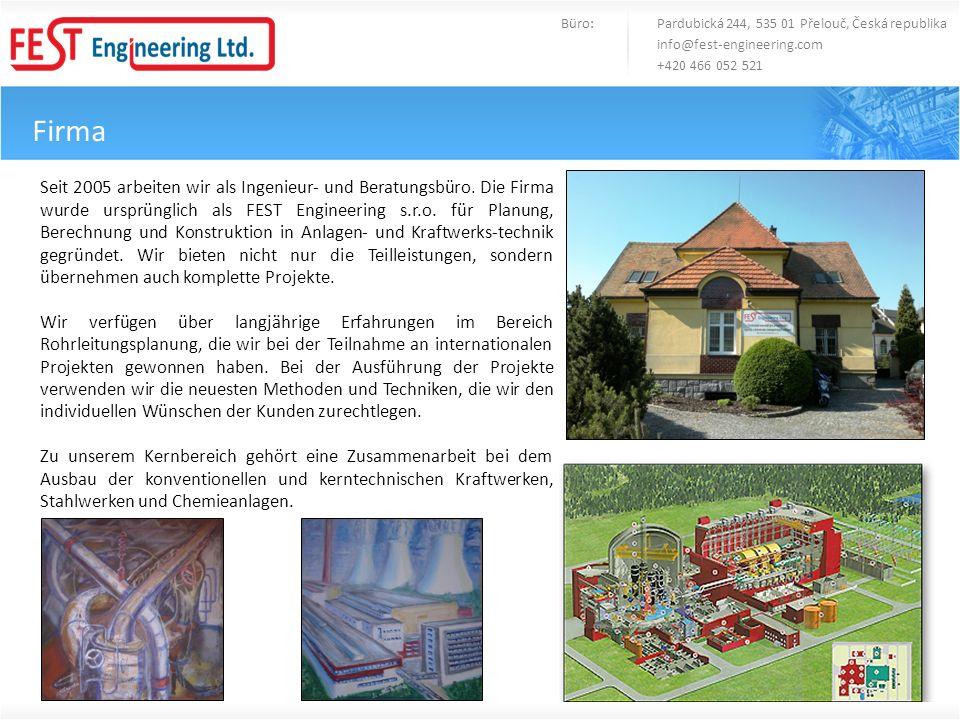 Büro: Pardubická 244, 535 01 Přelouč, Česká republika
