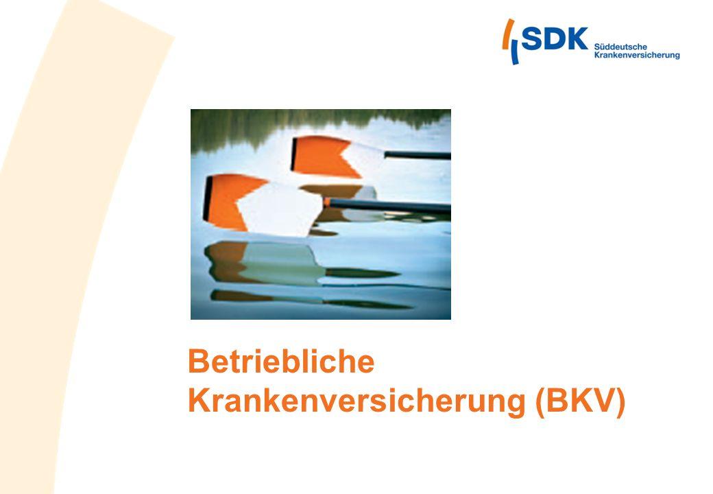 Betriebliche Krankenversicherung (BKV)