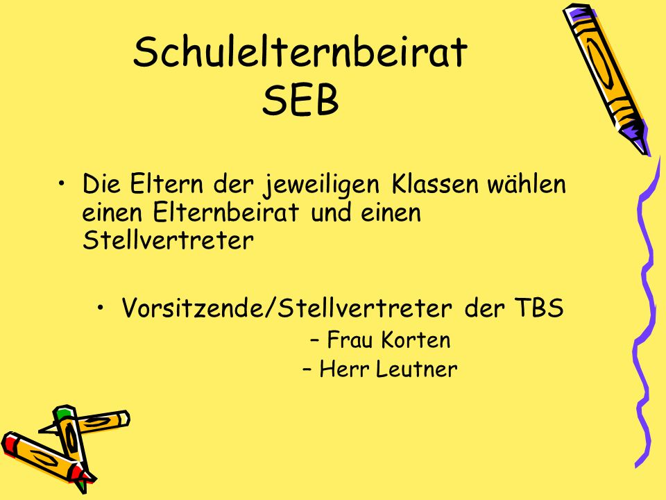 Schulelternbeirat SEB