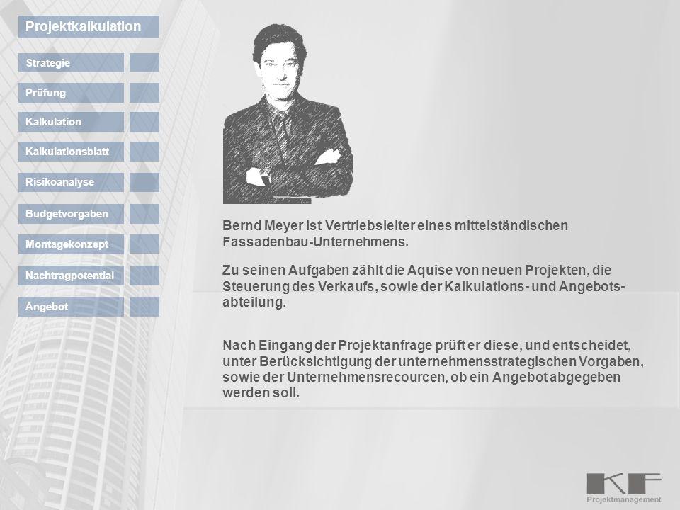 Projektkalkulation Strategie. Prüfung. Kalkulation. Kalkulationsblatt. Risikoanalyse. Budgetvorgaben.
