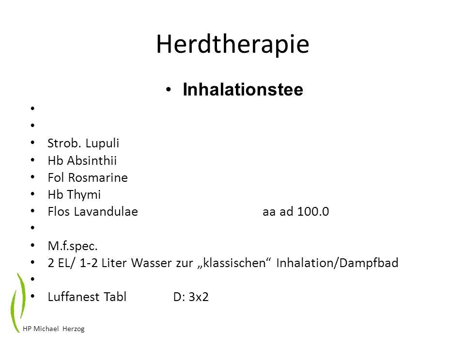 Herdtherapie Inhalationstee Strob. Lupuli Hb Absinthii Fol Rosmarine
