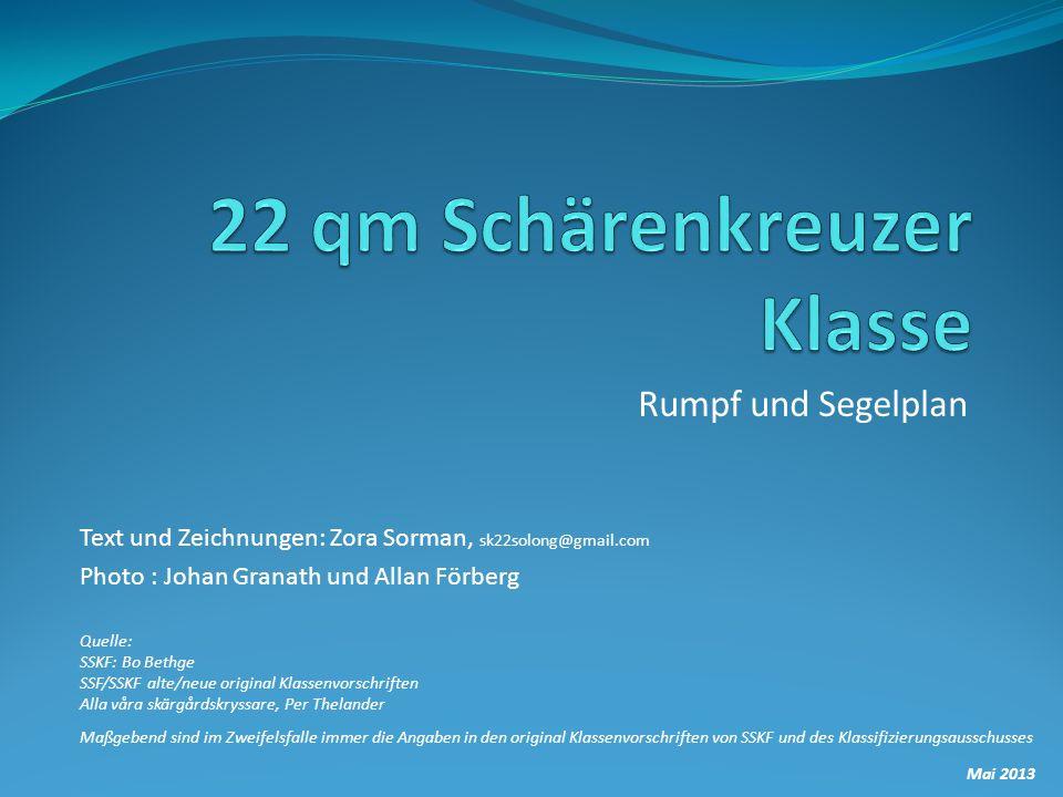 22 qm Schärenkreuzer Klasse