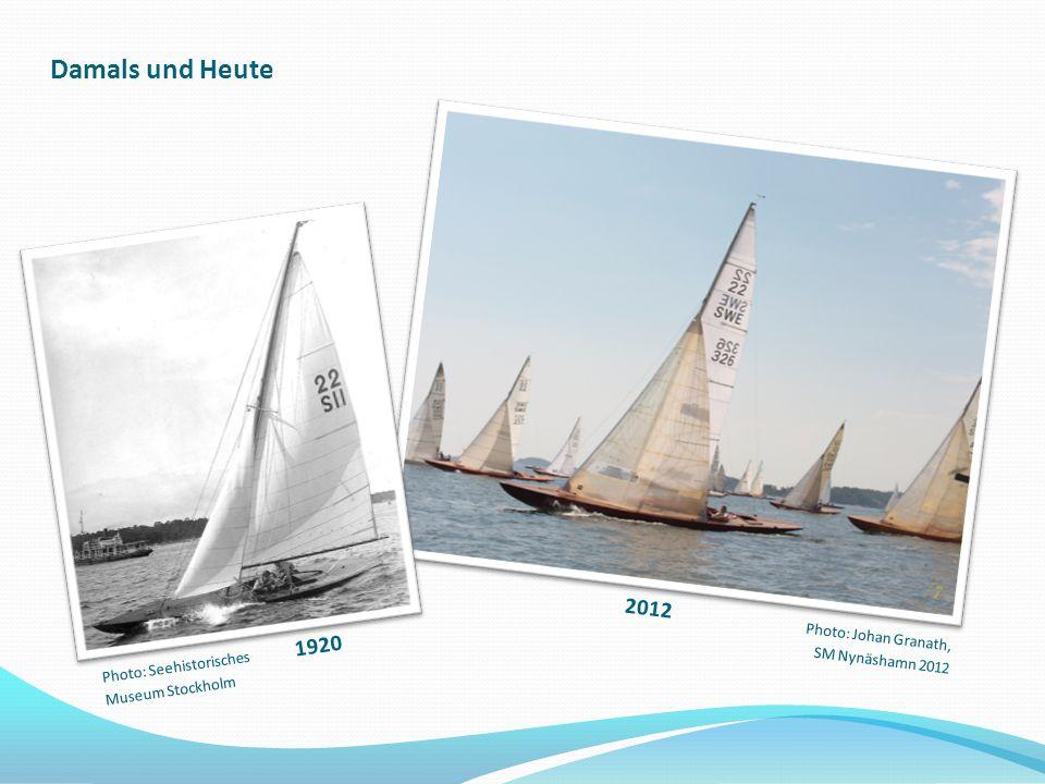 Damals und Heute 2012 1920 Photo: Johan Granath, SM Nynäshamn 2012