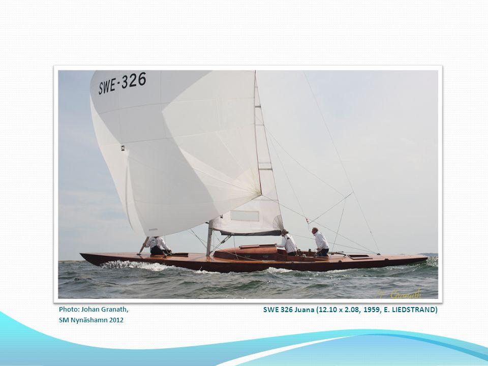 SWE 326 Juana (12.10 x 2.08, 1959, E. LIEDSTRAND)